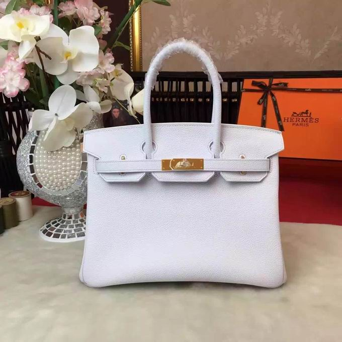 HERMES BIRKIN BAG IN WHITE