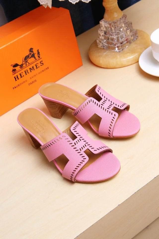 Hermes Oran pink