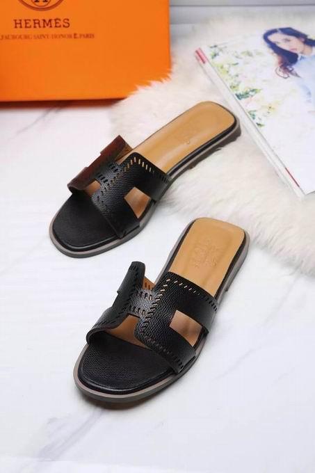 Hermes Oran sandal black