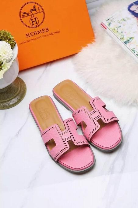 Hermes Oran sandal pink
