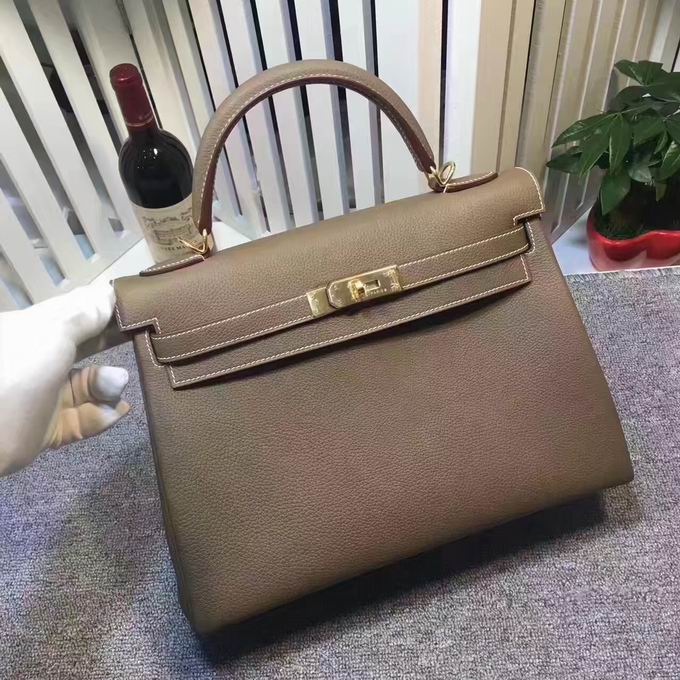 HERMES EPSOM KELLY BAGS in brown