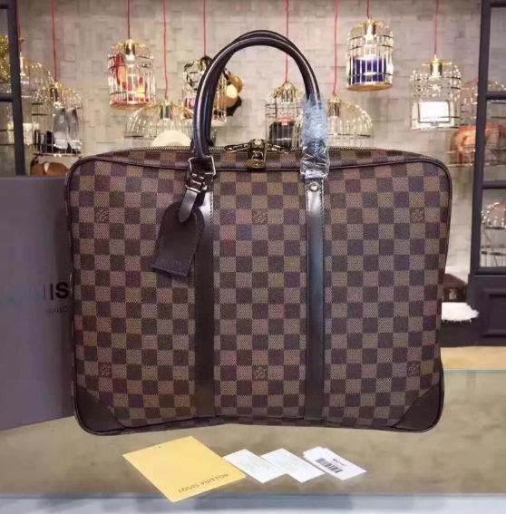 Louis Vuitton PORTE-DOCUMENTS VOYAGE GM Damier Ebene canvas