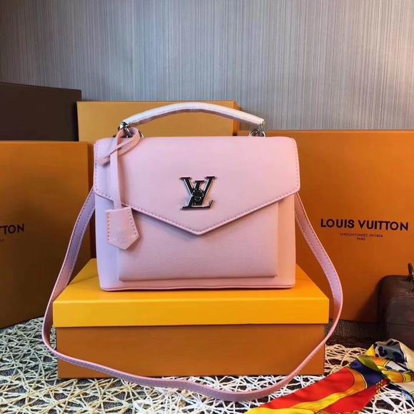Louis Vuitton MY LOCKME Pink leather