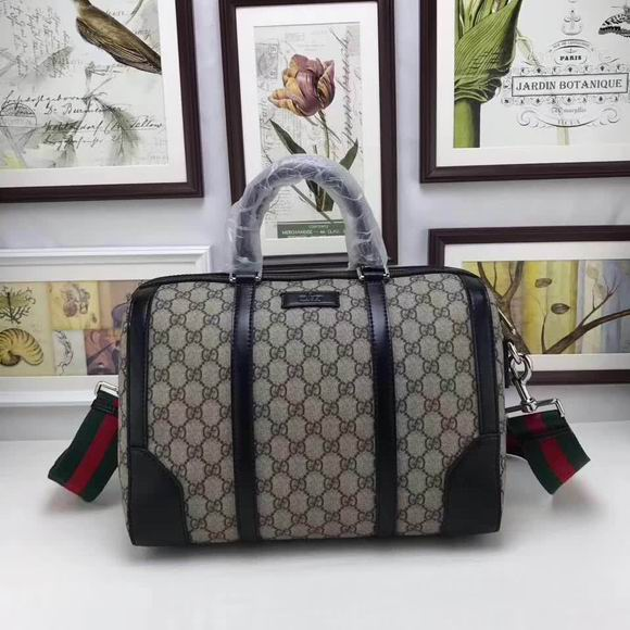 Gucci GG medium top handle bag black