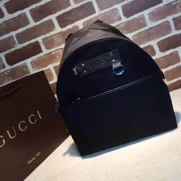Gucci black backpack
