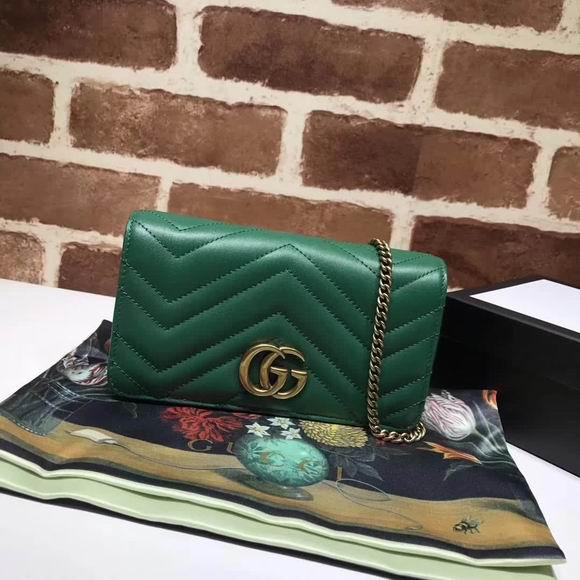 Gucci GG Marmont  mini bag green
