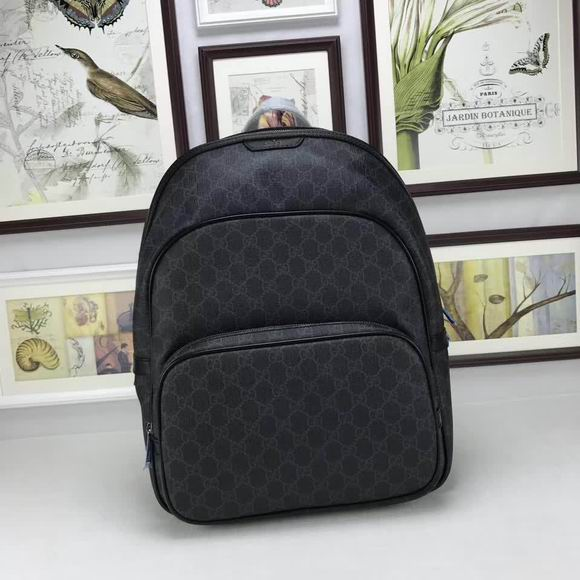 Gucci GG Supreme backpack black