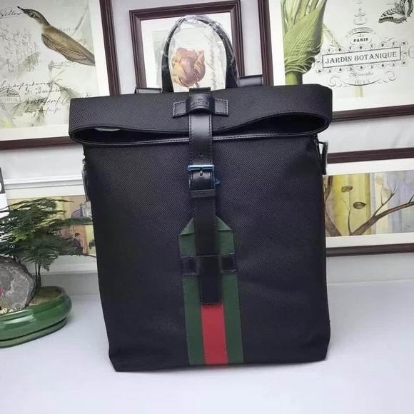 Gucci Techno canvas backpack black