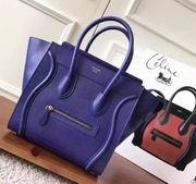 Celine  luggage bag in Lizard blue