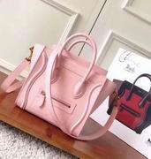 Celine  luggage bag in Lizard pink
