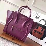 Celine  luggage bag in Lizard purple