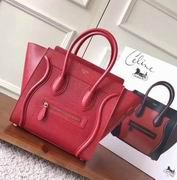 Celine  luggage bag in Lizard red