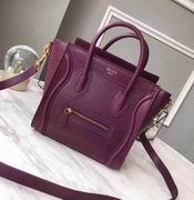Celine  luggage bag in Lizard wine