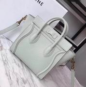 CELINE MINI LUGGAGE BAG IN BEIGE CALFSKIN,Handbags,Celine replicas wholesale
