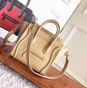 CELINE MINI LUGGAGE BAG IN KHAKI CALFSKIN,Handbags,Celine replicas wholesale