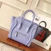 CELINE MINI LUGGAGE BAG IN LIGHT PURPLE CALFSKIN,Handbags,Celine replicas wholesale