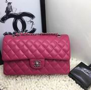 Chanel Classic  handbag in rose Lambskin A1112,Handbags, replicas wholesale