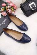 Chanel Lizard calf leather ballerinas falts blue ,Women Shoes,Chanel replicas wholesale