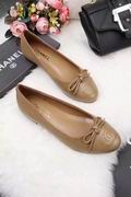 Chanel Lizard calf leather ballerinas falts khaki ,Women Shoes,Chanel replicas wholesale