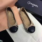 Chanel sheep skin flats apricot,Women Shoes,Chanel replicas wholesale