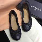 Chanel sheep skin flats black,Women Shoes,Chanel replicas wholesale