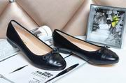 Chanel sheepskin ballerinas all black ,Women Shoes,Chanel replicas wholesale