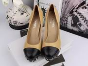 Chanel sheepskin pumps khaki ,Women Shoes, replicas wholesale