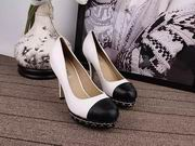 Chanel sheepskin pumps white ,Women Shoes,Chanel replicas wholesale