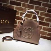 Gucci new style leather hobo pink god