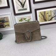 Gucci Nubuck Leather mini bag in khaki