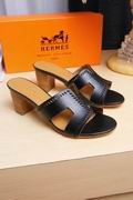 Hermes Oran black,Women Shoes, replicas wholesale