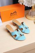 Hermes Oran light blue ,Women Shoes, replicas wholesale
