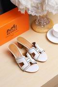 Hermes Oran white,Women Shoes, replicas wholesale