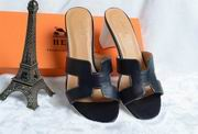 Hermes Oasis sandal black ,Women Shoes, replicas wholesale