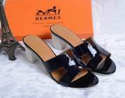 Hermes Patent leather Oasis sandal black ,Women Shoes, replicas wholesale