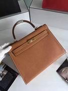 HERMES EPSOM KELLY BAGS in brown