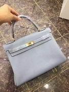 HERMES EPSOM KELLY BAGS in gray