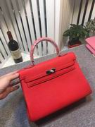 HERMES EPSOM KELLY BAGS in red