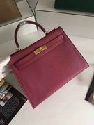 HERMES EPSOM KELLY BAGS in wine,Handbags,Hermes replicas wholesale