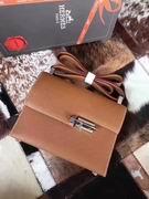 HERMES EPSOM VERROU SHOULDER BAG in brown ,Handbags,Hermes replicas wholesale