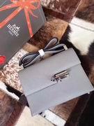 HERMES EPSOM VERROU SHOULDER BAG in gray ,Handbags,Hermes replicas wholesale