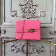 HERMES MINI EPSOM VERROU SHOULDER BAG in rose with gold metal ,Handbags,Hermes replicas wholesale