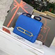 Hermes small roulis Bags in BLUE with gold metal,Handbags,Hermes replicas wholesale