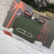 Hermes small roulis Bags in GREEN ,Handbags,Hermes replicas wholesale