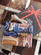HERMES SMALL VERROU BAG blue with gold metal ,Handbags,Hermes replicas wholesale