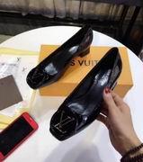 Louis Vuitton  pump with logo Black,Women Shoes,Louis Vuitton replicas wholesale