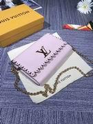 Louis Vuitton Calfskin leather LOUISE MM Purple