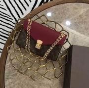 Louis Vuitton POCHETTE METIS Raisin,Handbags,Louis Vuitton 7 stars replicas wholesale
