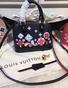 Louis Vuitton Printed and embossed Epi leather with leather black ALMA BB,Handbags,Louis Vuitton 7 stars replicas wholesale