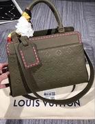 Louis Vuitton VOSGES MM Green ,Handbags,Louis Vuitton 7 stars replicas wholesale